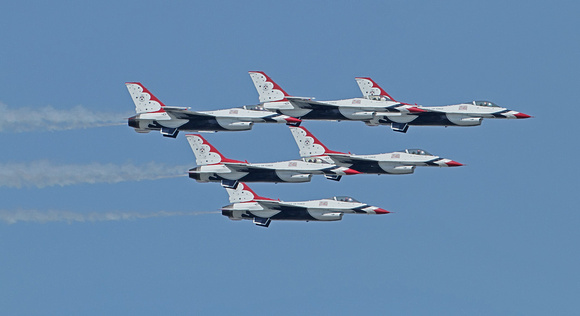 Thunder Over the Boardwalk 2011 - USAF Thunderbirds